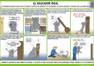 El rascador ideal