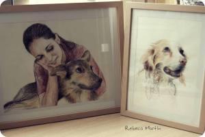 Rebeca Martín hace retratos por encargo. Más información en facebook.